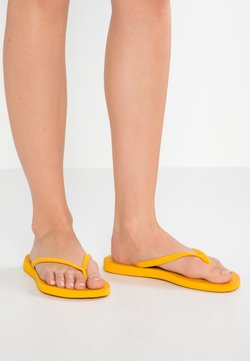 Havaianas - SLIM FIT - Teenslippers - banana yellow