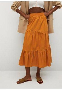 Mango - Spódnica trapezowa - naranja