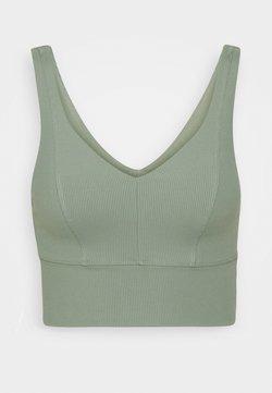 Cotton On Body - V NECK VESTLETTE - Sports-BH - basil green