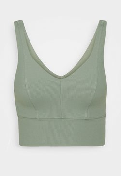 Cotton On Body - V NECK VESTLETTE - Sport BH - basil green