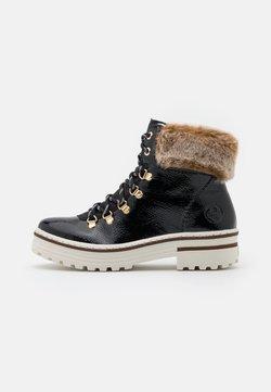 Rieker - Snowboot/Winterstiefel - black/steppe