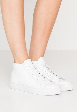 GARMENT PROJECT - TYPE MID SLIM SOLE - Sneakers hoog - white/light grey