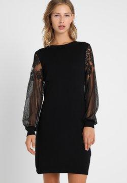 ONLY - ONLVIKTORIA DRESS - Neulemekko - black