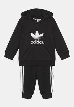 adidas Originals - HOODIE SET UNISEX - Chándal - black/white