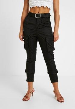 4th & Reckless Petite - SCRIPT TROUSER - Pantalon classique - black