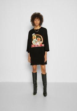 MOSCHINO - SESAME STREET DRESS - Vestito estivo - black