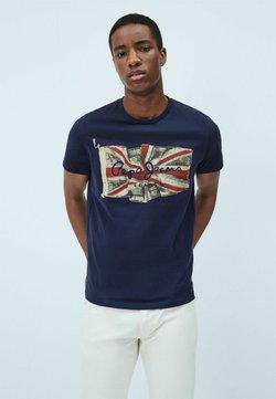 Pepe Jeans - FLAG - Camiseta estampada - dark blue