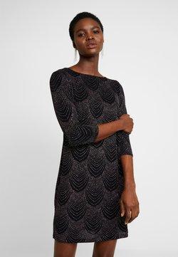 Dorothy Perkins - MULTI GLITTER SHIFT - Vestido de cóctel - black