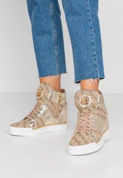 Guess - FREETA - Baskets montantes - beige/brown