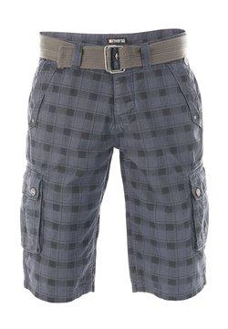 Riverso - RIVANTON - Shorts - washed indigo blue black