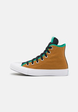Converse - CHUCK TAYLOR ALL STAR DIGITAL TERRAIN UNISEX - Korkeavartiset tennarit - dark soba/black/court green