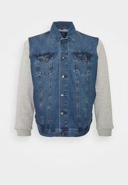 URBN SAINT - JAGUAR JACKET - Veste en jean - light blue