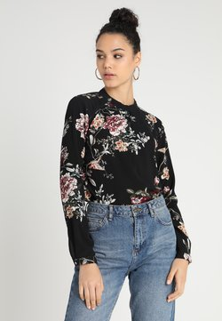 ONLY - ONLNEW MALLORY  BLOUSE - Bluse - black