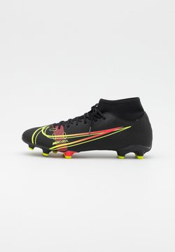 Nike Performance - MERCURIAL 8 ACADEMY FG/MG - Moulded stud football boots - black/cyber/off noir