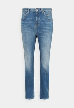 Marc O'Polo DENIM - FREJA BOYFRIEND - Jeans relaxed fit - mid blue marble