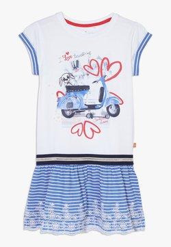 Lemon Beret - SMALL GIRLS DRESS - Jerseykleid - optical white