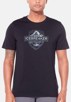 Icebreaker - T-Shirt print - schwarz