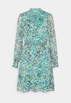 Esqualo - DRESS FLOWER GARDEN PRINT - Freizeitkleid - green