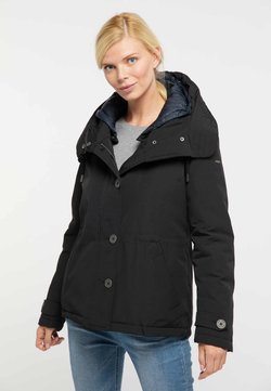 usha - BLUE LABEL - Wintermantel - black