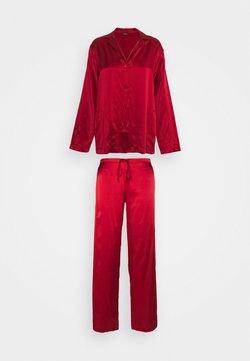 La Perla - LONG - Pyjamas - red tango