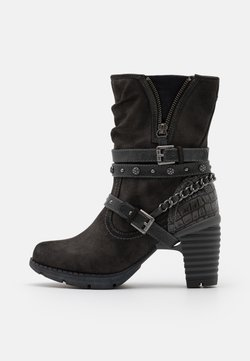 Mustang - Cowboy/biker ankle boot - dunkelgrau