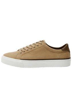 PULL&BEAR - SNEAKER MIT BROGUING UND SCHNÜRUNG 12215540 - Sneaker low - light brown