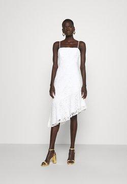 Milly - DIARA EMBROIDERED DRESS - Cocktailkleid/festliches Kleid - white
