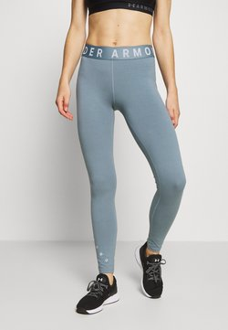 Under Armour - FAVORITE GRAPHIC LEGGING - Medias - hushed turquoise/halo gray/halo gray