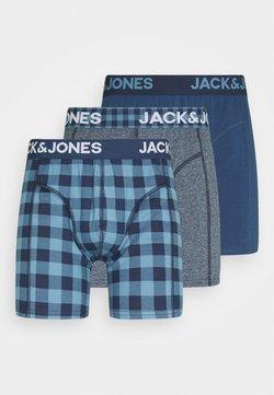 Jack & Jones - JACREECE TRUNKS 3 PACK - Panties - dark blue denim/denim