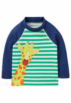 Boden - LONG SLEEVE - Surfshirt - baumgrün/naturweiß, giraffe