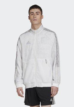 adidas Performance - DFB DEUTSCHLAND UNI JKT - Trainingsjacke - white/dash grey