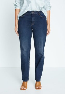 Violeta by Mango - ELY - Relaxed fit jeans - azul oscuro