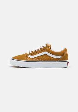 Vans - OLD SKOOL UNISEX - Sneakersy niskie - golden brown/true white