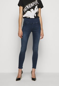 Patrizia Pepe - HIGH WAIST  - Jeans Skinny Fit - night blue wash