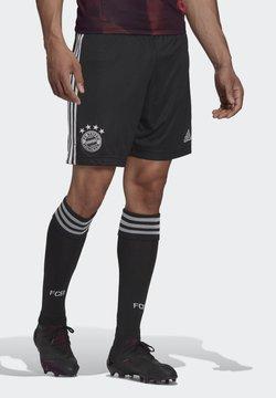 adidas Performance - FC BAYERN 20/21 THIRD SHORTS - kurze Sporthose - black