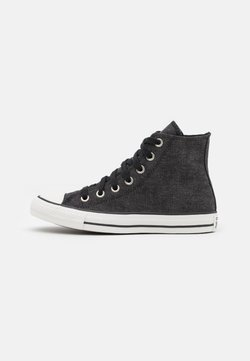 Converse - CHUCK TAYLOR ALL STAR UNISEX - Korkeavartiset tennarit - black/egret