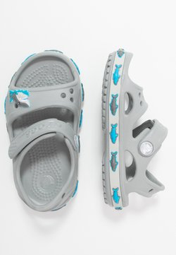 Crocs - SHARK BAND - Badslippers - light grey