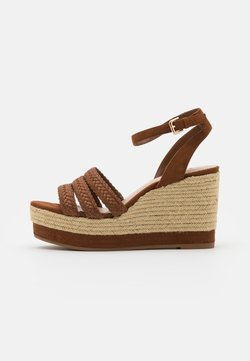PARFOIS - Sandalen met hoge hak - camel