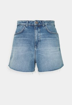 Marc O'Polo DENIM - Shorts di jeans - vintage mid blue