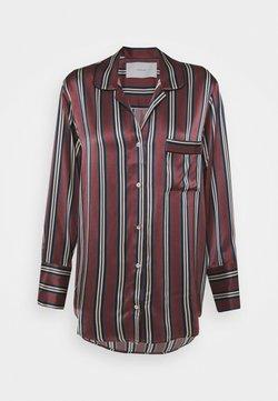 ASCENO - THE PARIS - Nachtwäsche Shirt - burgundy
