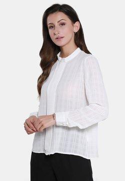 usha - Bluse - woolen white