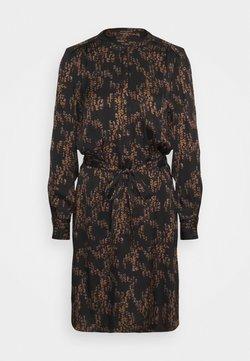 Bruuns Bazaar - ZEBRA TREE AYAN DRESS - Freizeitkleid - black