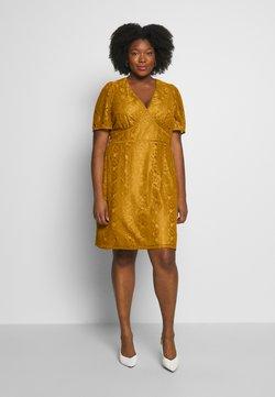 Fashion Union Plus - LUCA DRESS - Juhlamekko - yellow