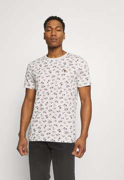 Jack & Jones PREMIUM - JPRBLUTOM TEE CREW NECK - T-Shirt print - rainy day