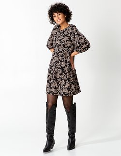 Indiska - Jerseykleid - black