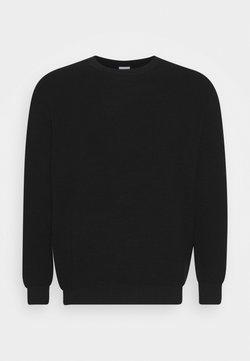 Jack & Jones - JJELIAM CREW NECK - Pullover - black