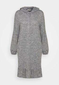 Freequent - FQLIVANA - Vestido de punto - med. grey melange