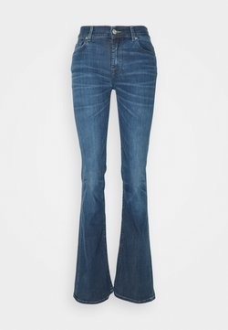7 for all mankind - KIND TO THE PLANET BETTER DAYS - Jeans bootcut - mid blue