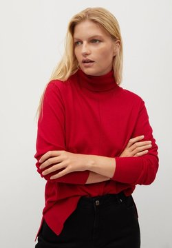 Violeta by Mango - REST - Strickpullover - rot