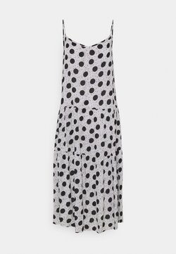 Marks & Spencer London - V NECK SLIP - Sukienka letnia - grey